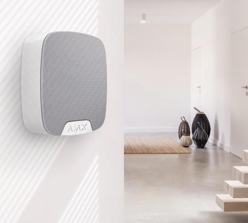 Ajax HomeSiren pour une protection optimisée de votre maison