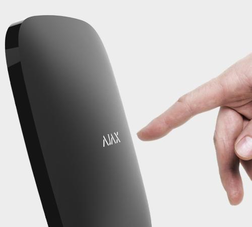 Ajax Hub permet de créer des scénarios domotiques