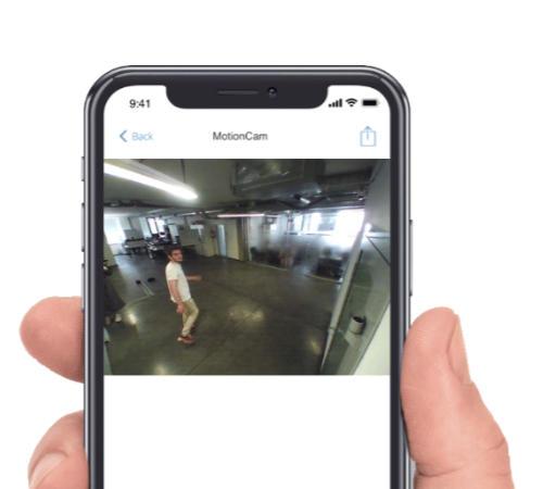 Ajax MotionCam, un détecteur de mouvement sans fil qui vous envoie des une vidéo