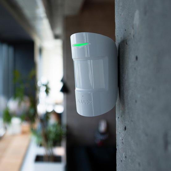 Le détecteur de mouvement Ajax system est esthétique et efficace