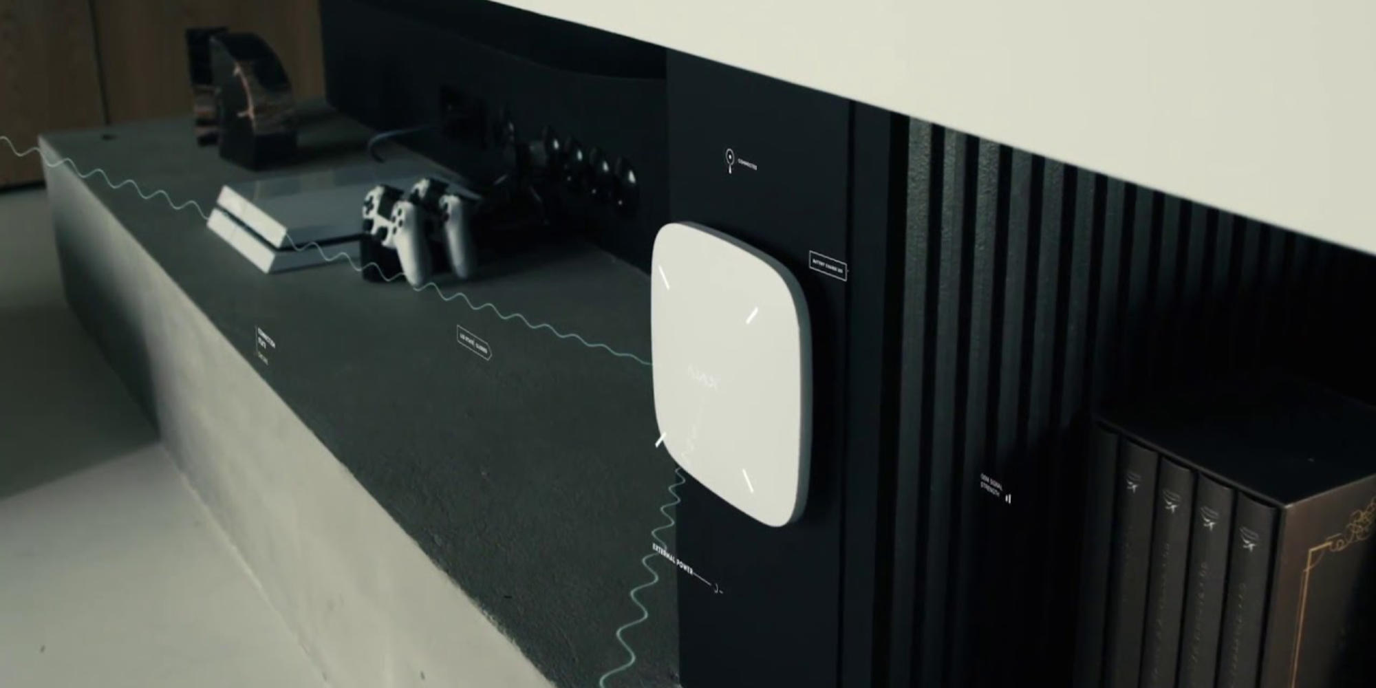 Alarme Ajax System : sytème de transmission radio sécurisé