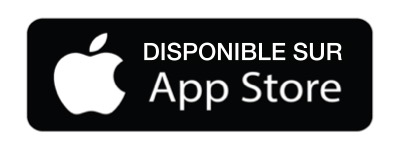 Application gratuite disponible sur l'app store Apple
