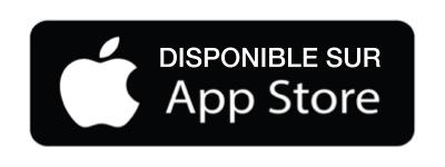 Application gratuite disponible sur l'app store Apple
